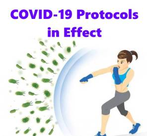 COVID-19 Protocols In Effect - Girl Fighting